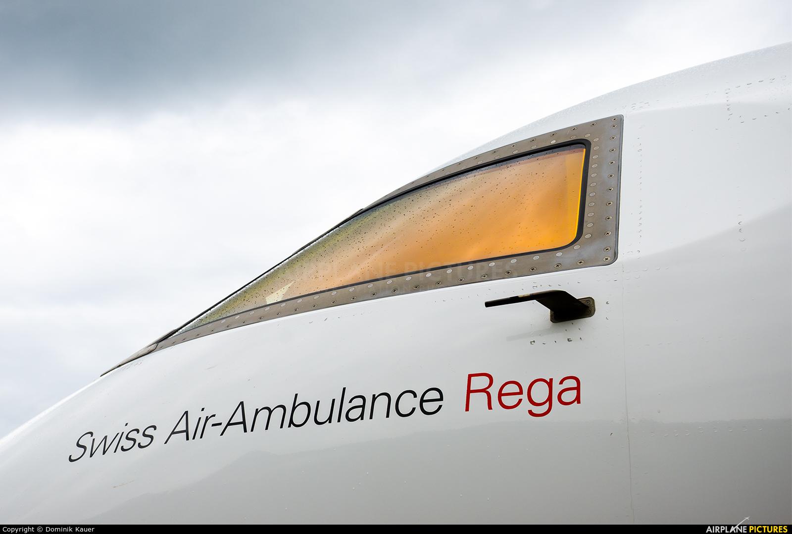 REGA Swiss Air Ambulance  HB-JRA aircraft at Meiringen