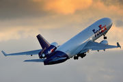 N588FE - FedEx Federal Express McDonnell Douglas MD-11F aircraft