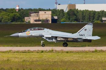 833 - India - Navy Mikoyan-Gurevich MiG-29K