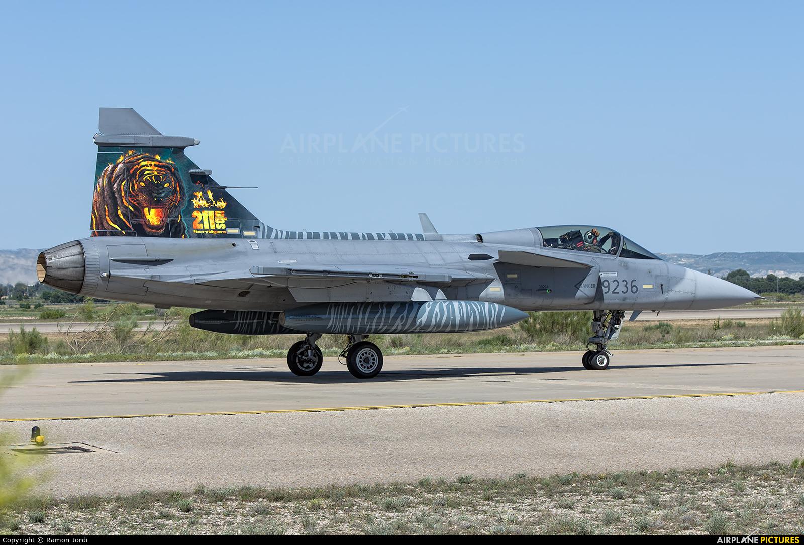 Czech - Air Force 9236 aircraft at Zaragoza