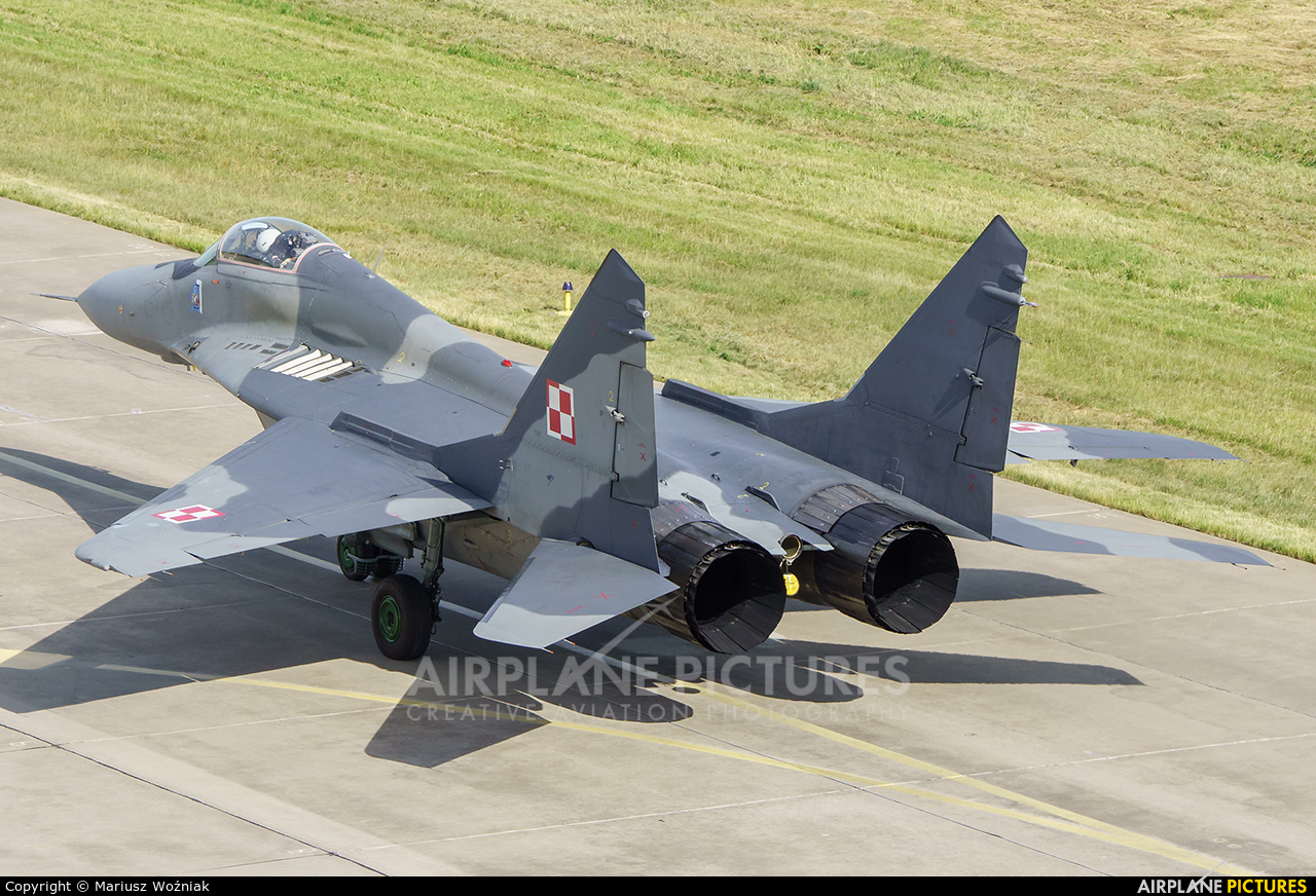 Poland - Air Force 4104 aircraft at Malbork