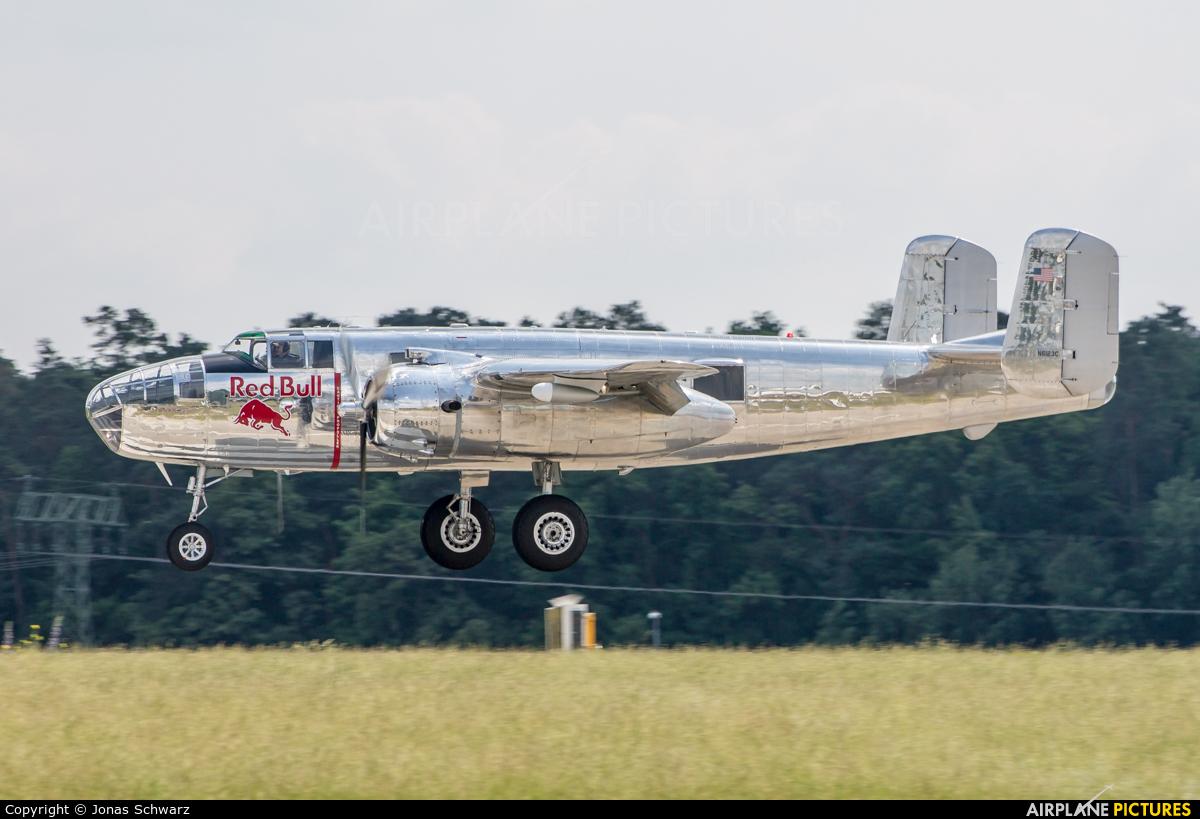 The Flying Bulls N6123C aircraft at Berlin - Schönefeld
