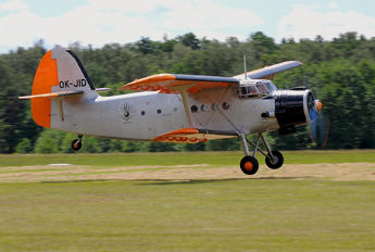 OK-JID - Aeroklub Ostrava Antonov An-2