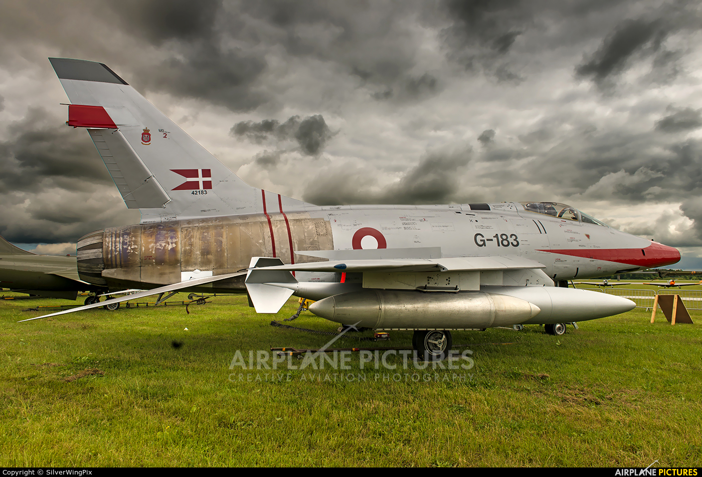 Royal Danish Air Force (RDAF) Saab RF-35 Draken AR-104 Recce ...