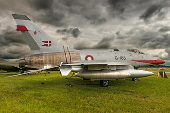G-183 - Denmark - Air Force North American F-100 Super Sabre