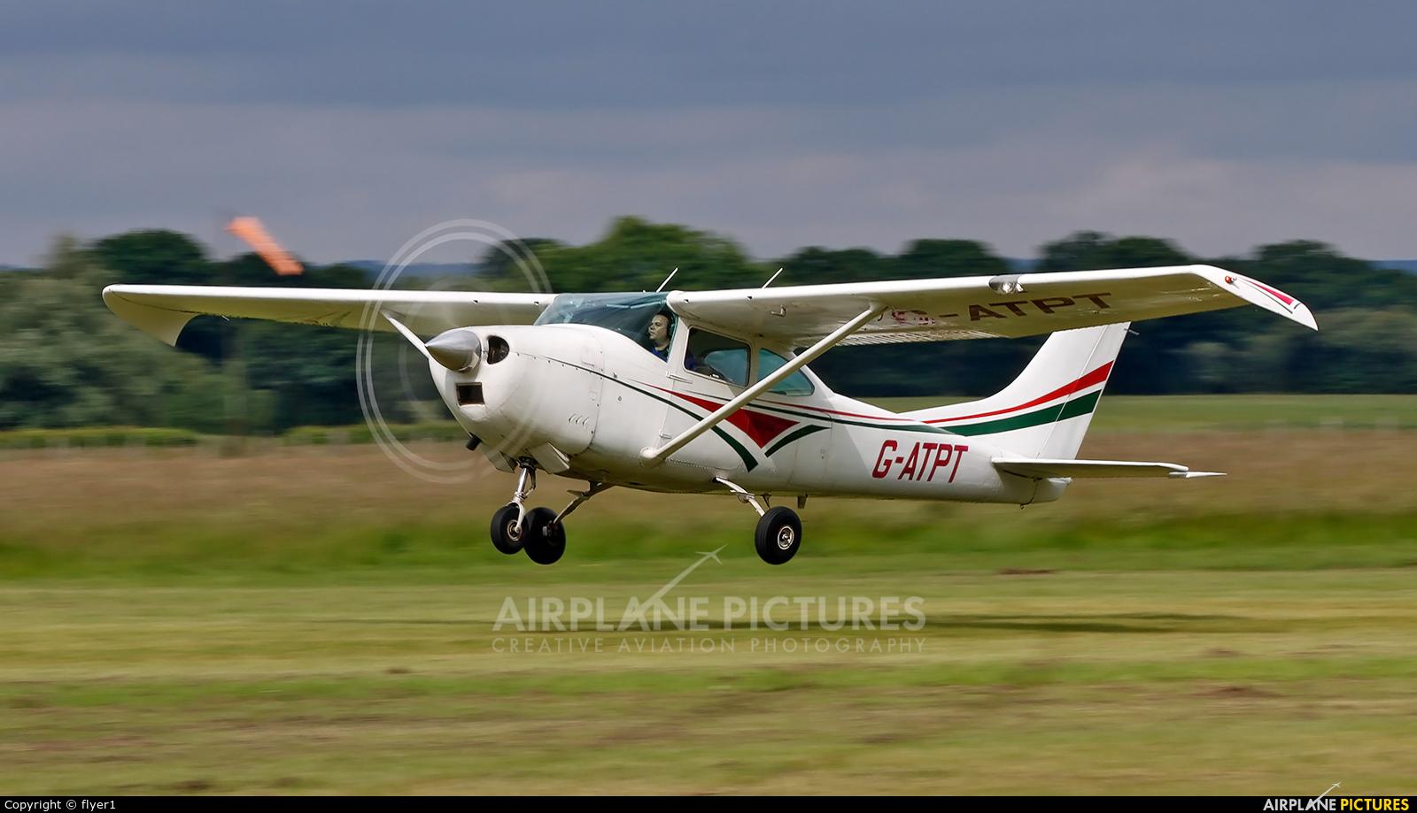Private G-ATPT aircraft at Lashenden / Headcorn