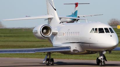 D-BOOK - Private Dassault Falcon 2000 DX, EX