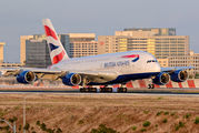 G-XLEJ - British Airways Airbus A380 aircraft