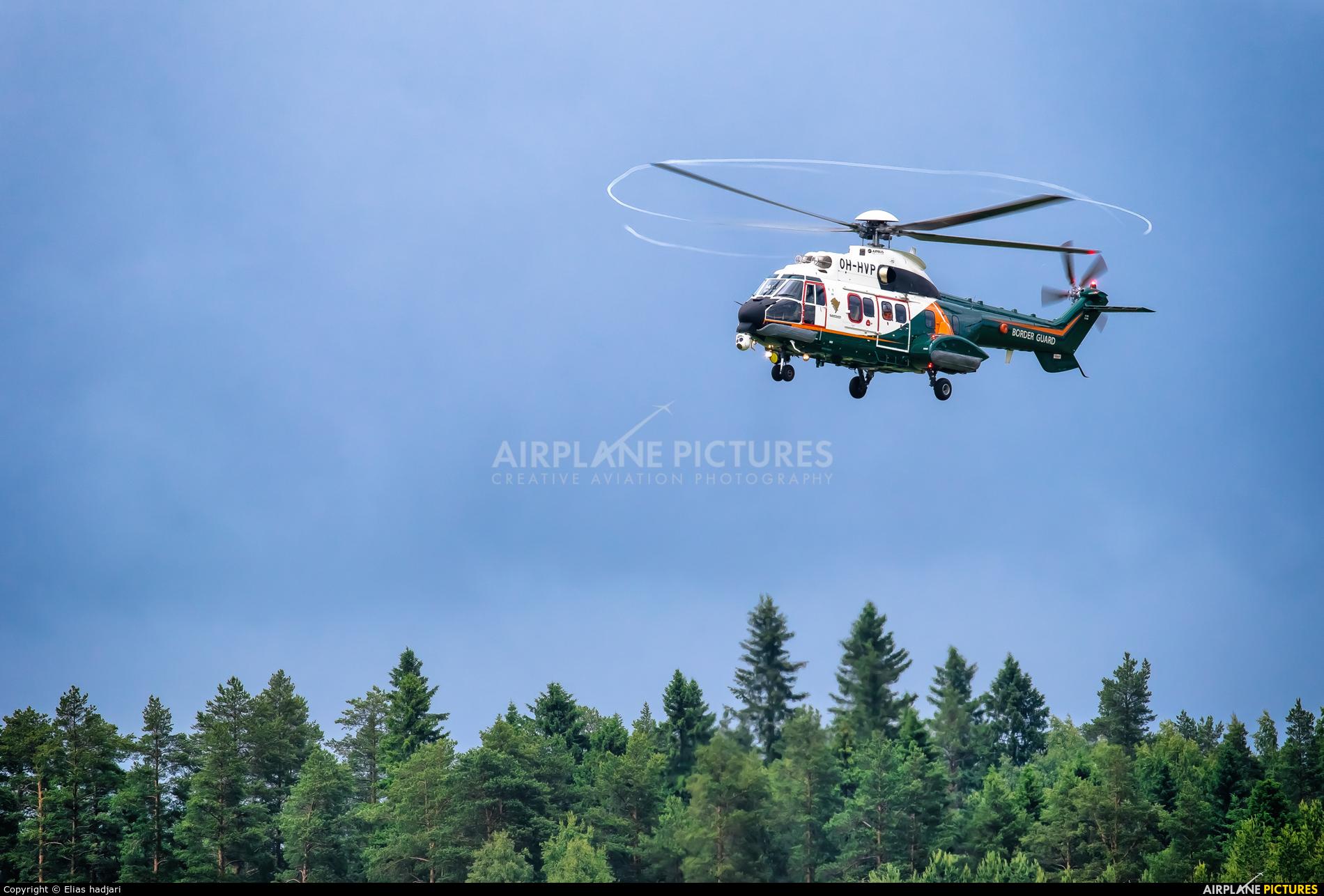 Finland - Border Guard OH-HVP aircraft at Kuopio Rissala