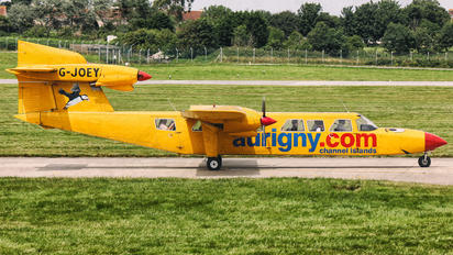 G-JOEY - Aurigny Air Services Britten-Norman BN-2 III Trislander