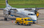Croatia Airlines de Havilland Canada DHC-8-400Q / Bombardier Q400 9A-CQF at Zagreb airport