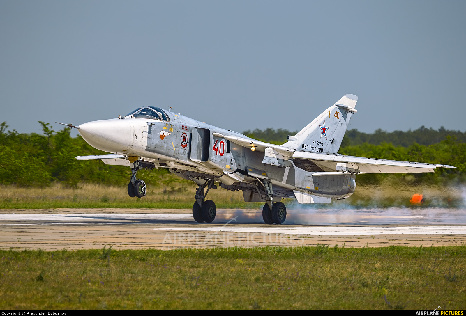 Russia - Air Force Sukhoi Su-24M RF-92245