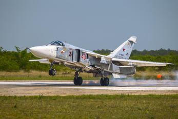 RF-92245 - Russia - Air Force Sukhoi Su-24M
