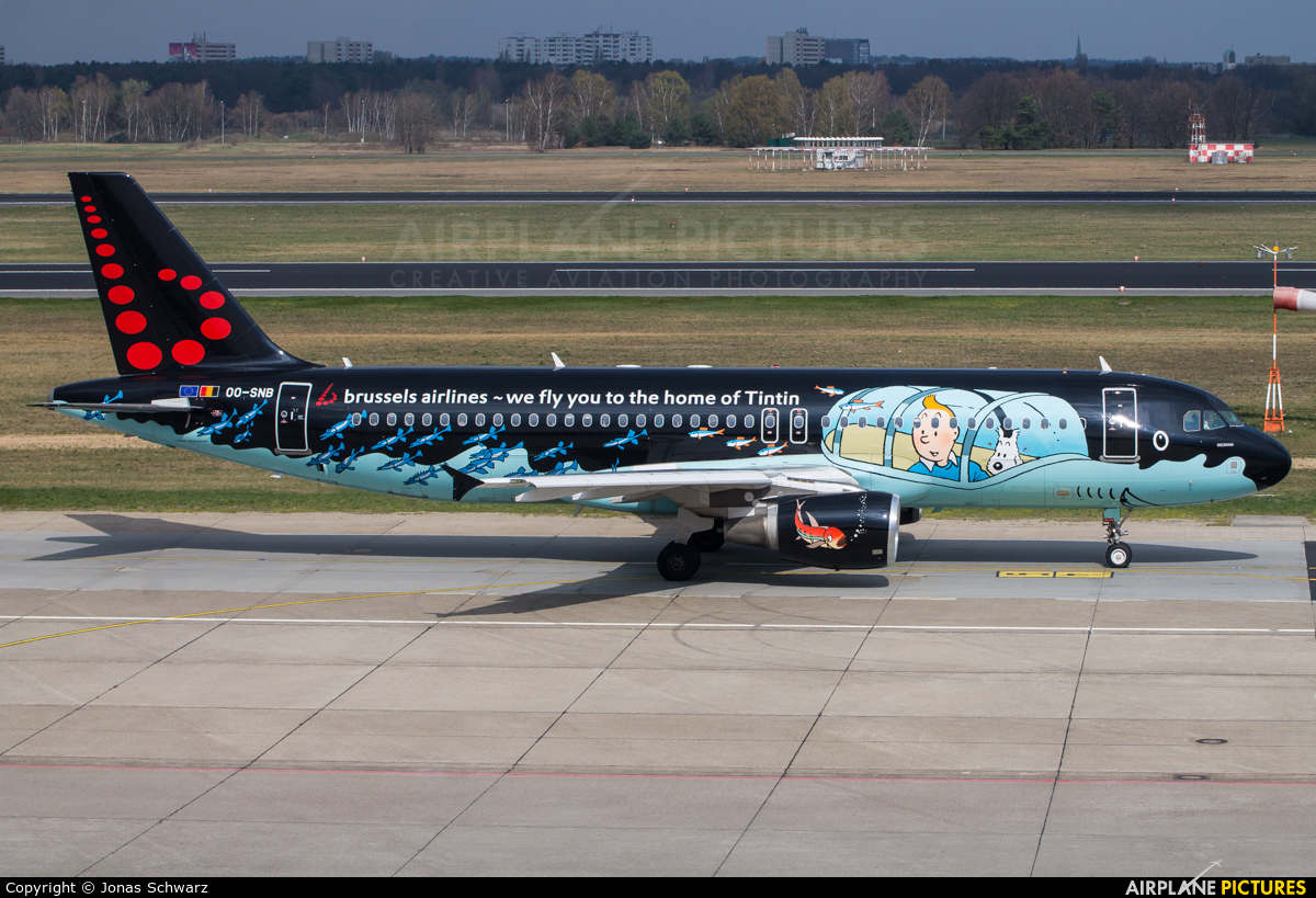 Brussels Airlines OO-SNB aircraft at Berlin - Tegel