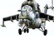 3371 - Czech - Air Force Mil Mi-24V aircraft