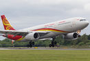 Hainan Airlines Airbus A330-300 B-8016 at Manchester airport