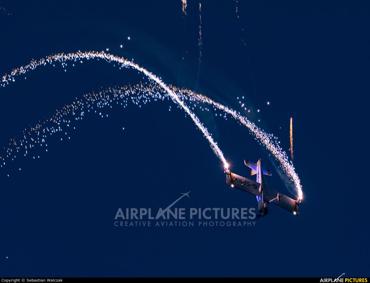 Fireflies Aerobatic Display Team G-SPRK aircraft at Leszno - Strzyżewice