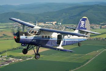 OM-PYB - Aeroklub Dubnica nad Vahom Antonov An-2