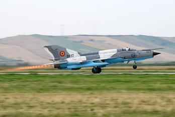 5917 - Romania - Air Force Mikoyan-Gurevich MiG-21 LanceR C