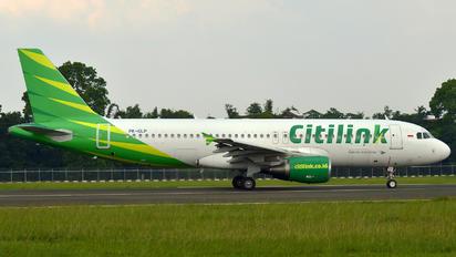 PK-GLP - Citilink Airbus A320