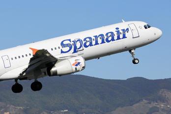EC-IJU - Spanair Airbus A321