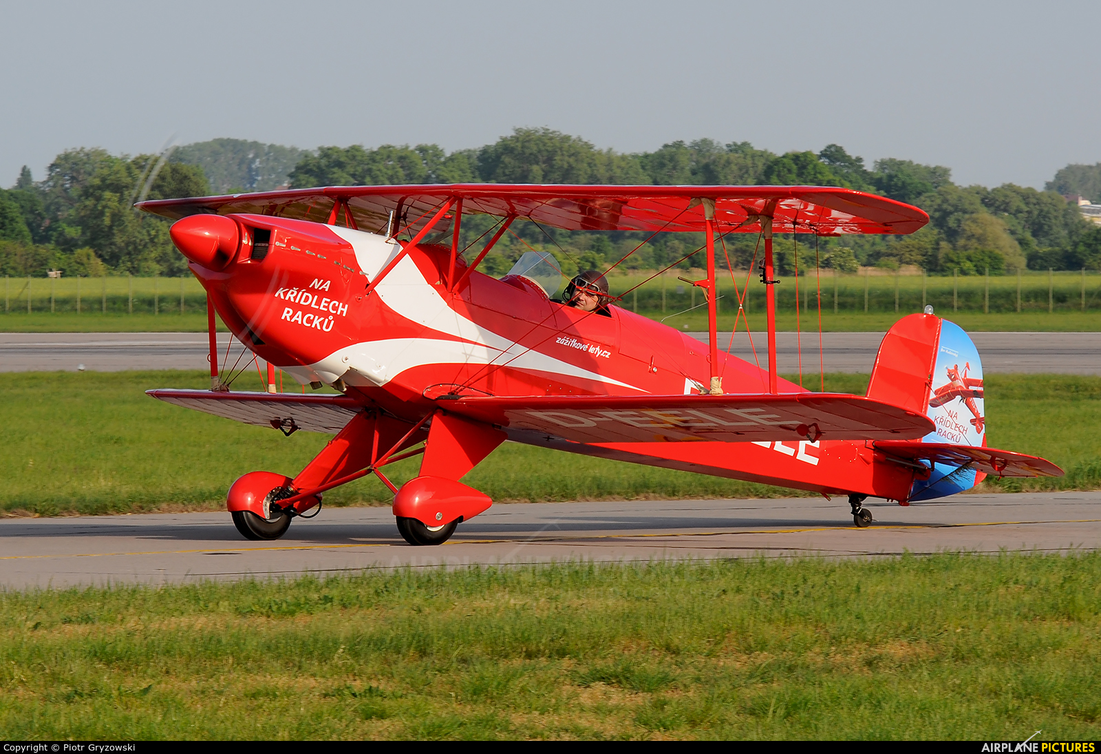 Private D-EELE aircraft at Pardubice