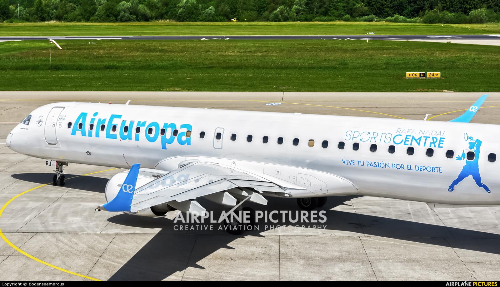 Air Europa EC-KRJ aircraft at Friedrichshafen