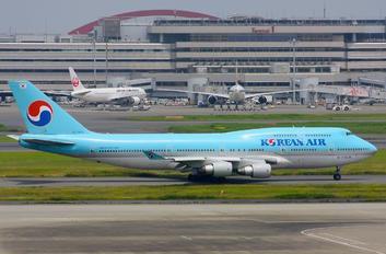 HL7495 - Korean Air Boeing 747-400