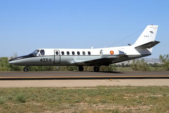 TR.20-01 / 403-11 - Spain - Air Force Cessna 560 Citation V