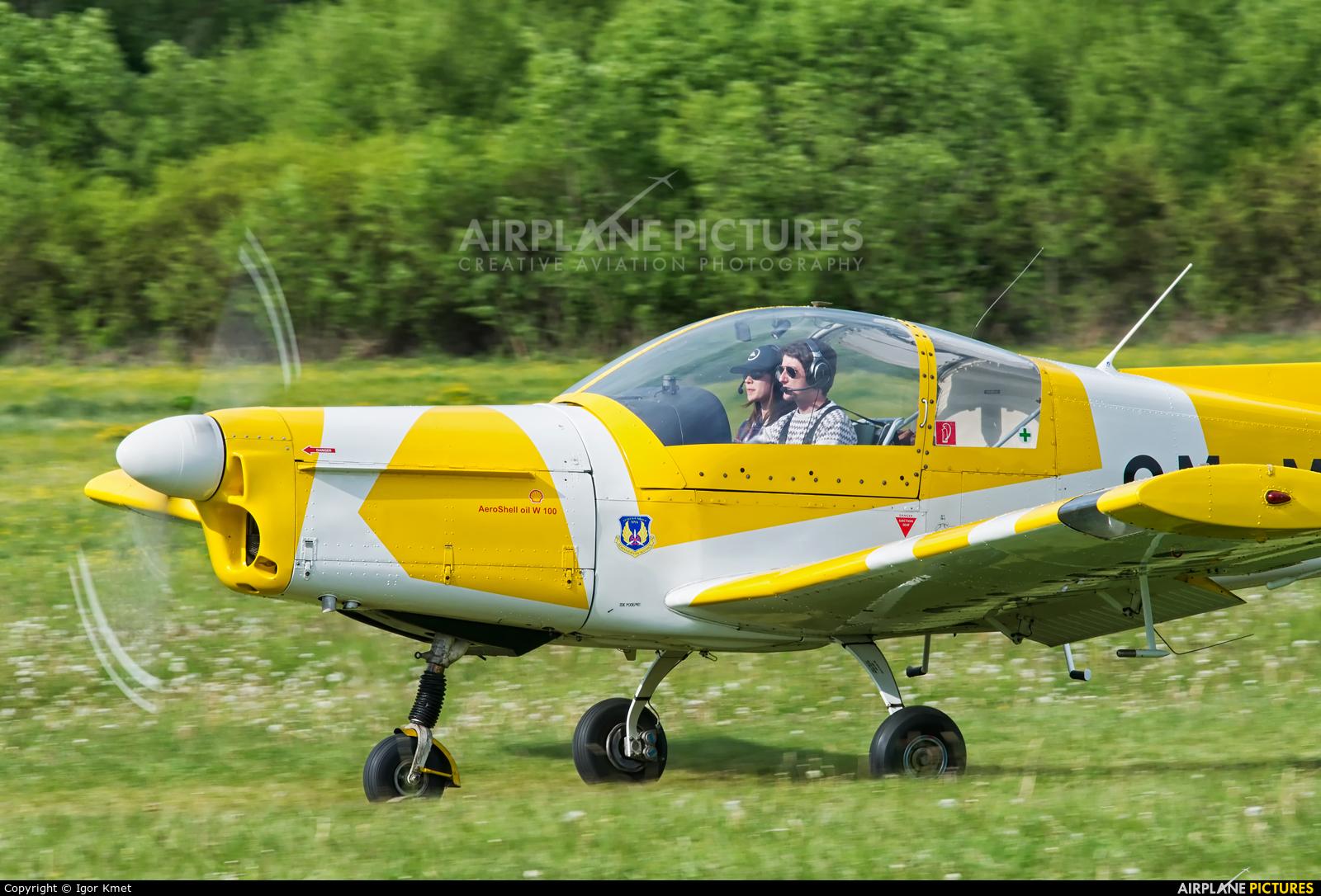 Aeroklub Svidník OM-MNQ aircraft at Očová