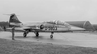 D-5803 - Netherlands - Air Force Lockheed TF-104G Starfighter