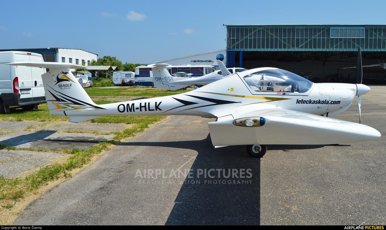 Seagle Air OM-HLK aircraft at Nitra