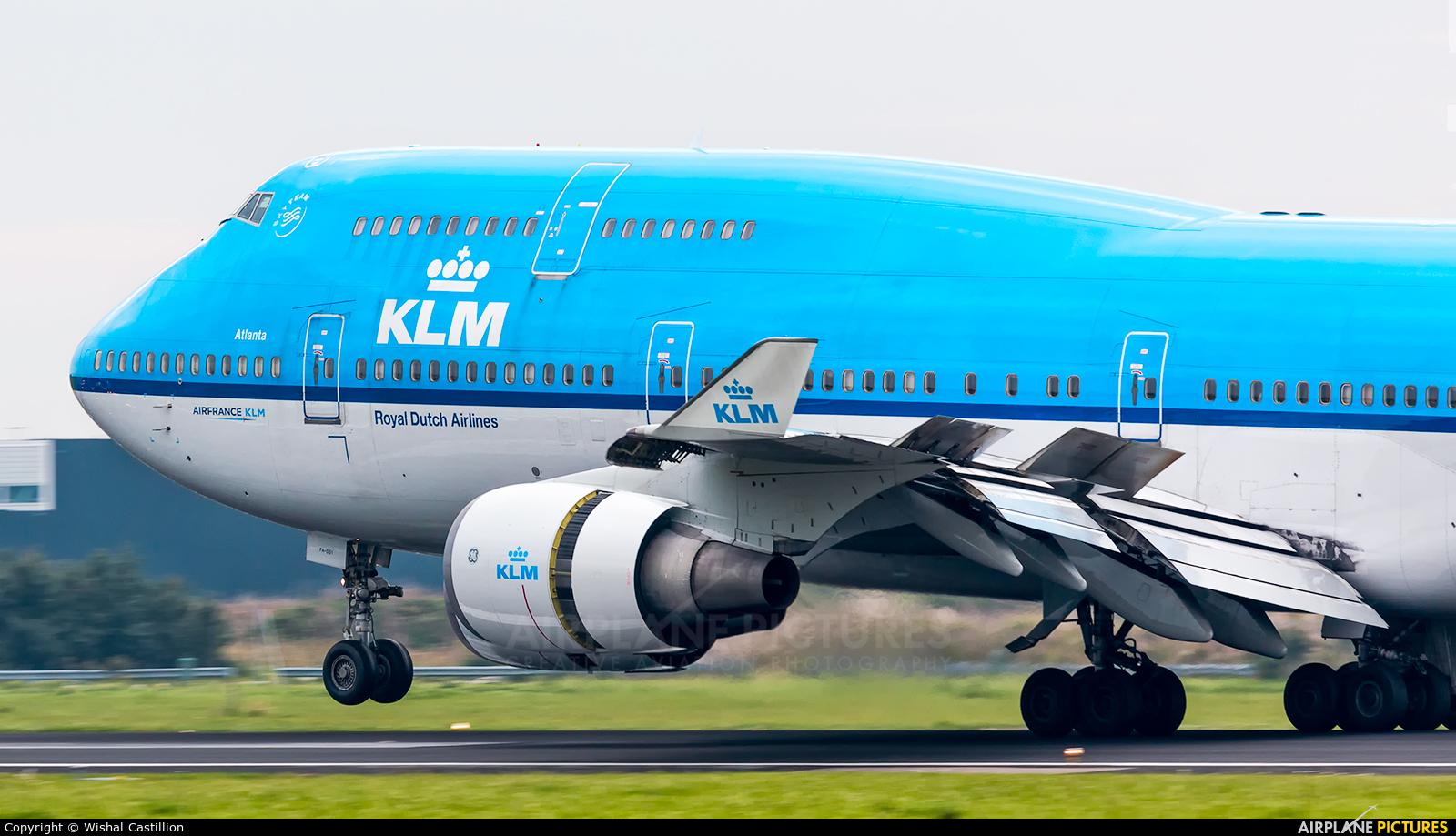 KLM PH-BFA aircraft at Amsterdam - Schiphol