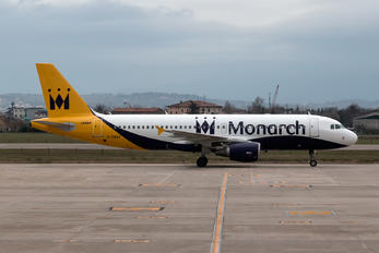 G-ZBAT - Monarch Airlines Airbus A320