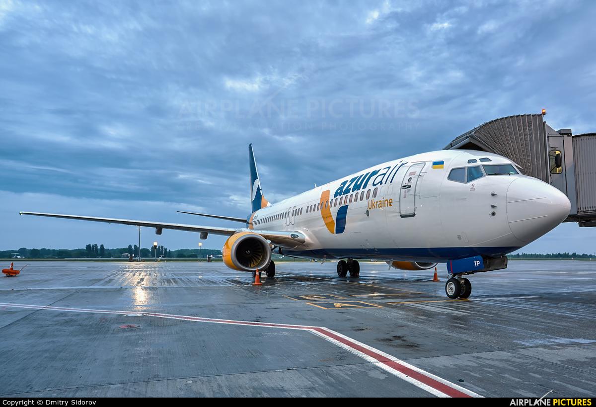 Azur Air Ukraine UR-UTP aircraft at Kyiv - Borispol