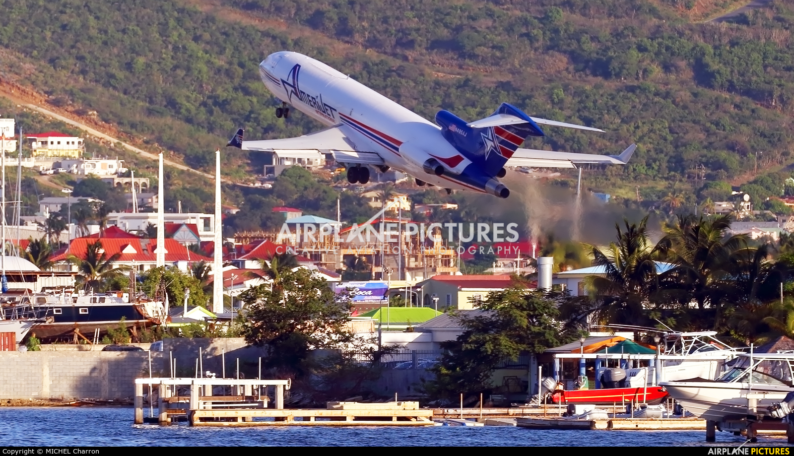 Amerijet International N495AJ aircraft at Sint Maarten - Princess Juliana Intl