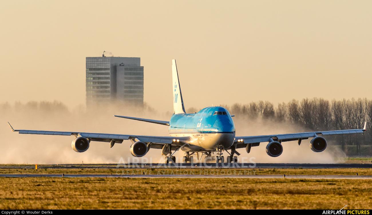 KLM PH-BFL aircraft at Amsterdam - Schiphol