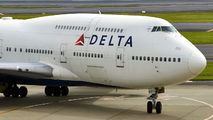 N662US - Delta Air Lines Boeing 747-400 aircraft