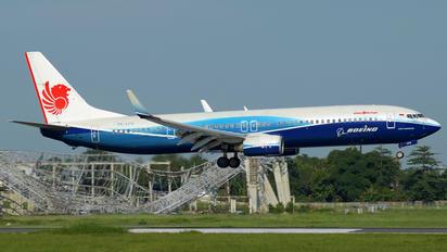 PK-LFG - Lion Airlines Boeing 737-900ER