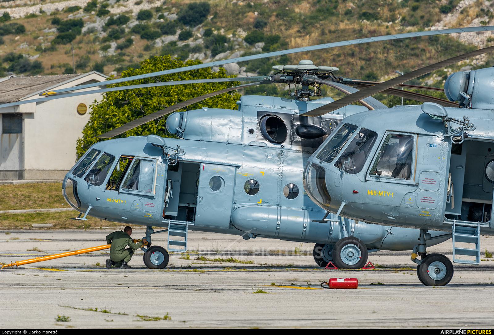 Croatia - Air Force 212 aircraft at Split - Kaštela