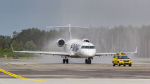 S5-AAY - Adria Airways Bombardier CRJ-700  aircraft
