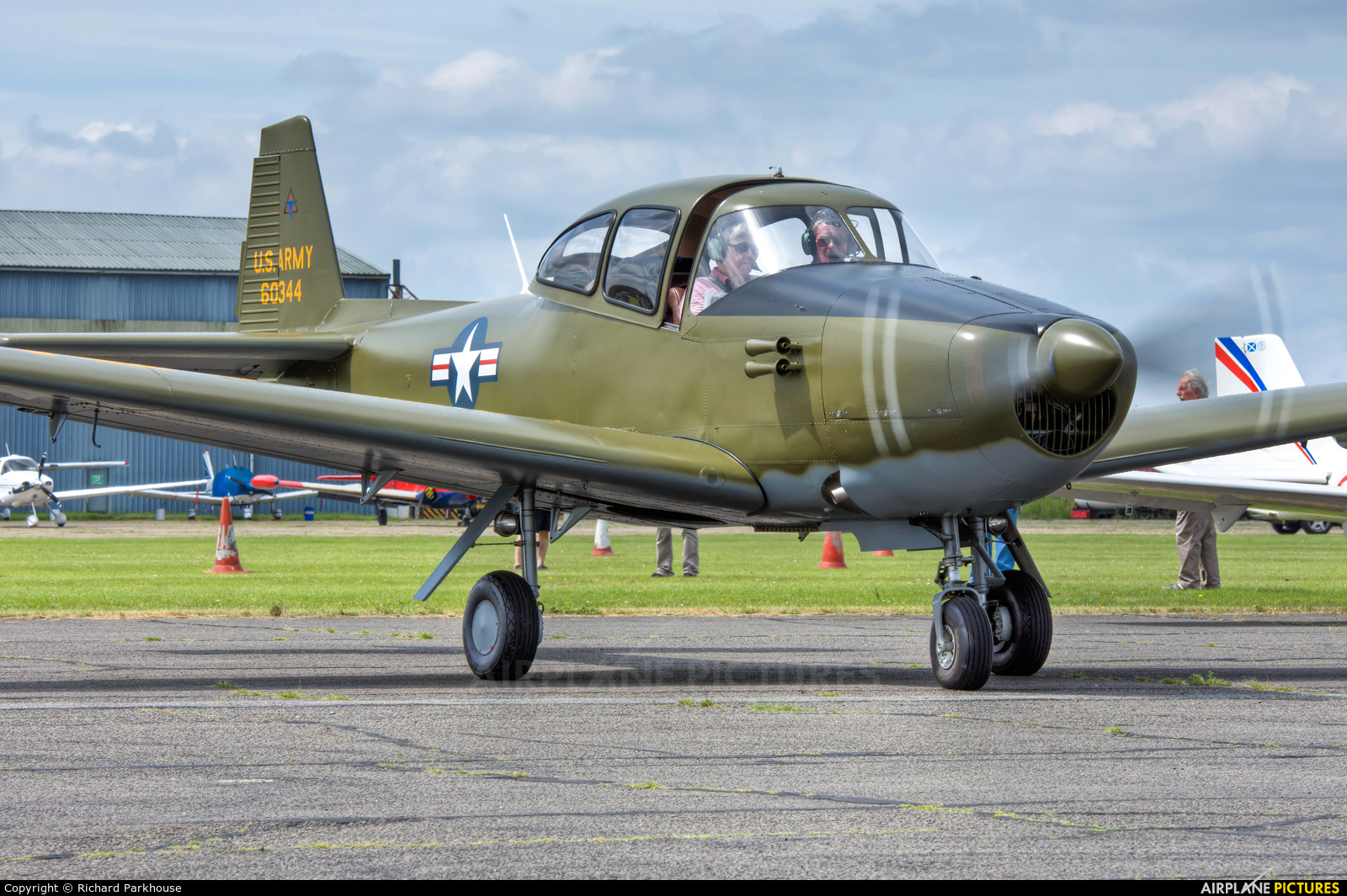 Private N4956C aircraft at North Weald