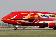 9M-MPD - Malaysia Airlines Boeing 747-400 aircraft