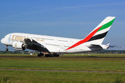 A6-EOG - Emirates Airlines Airbus A380 aircraft