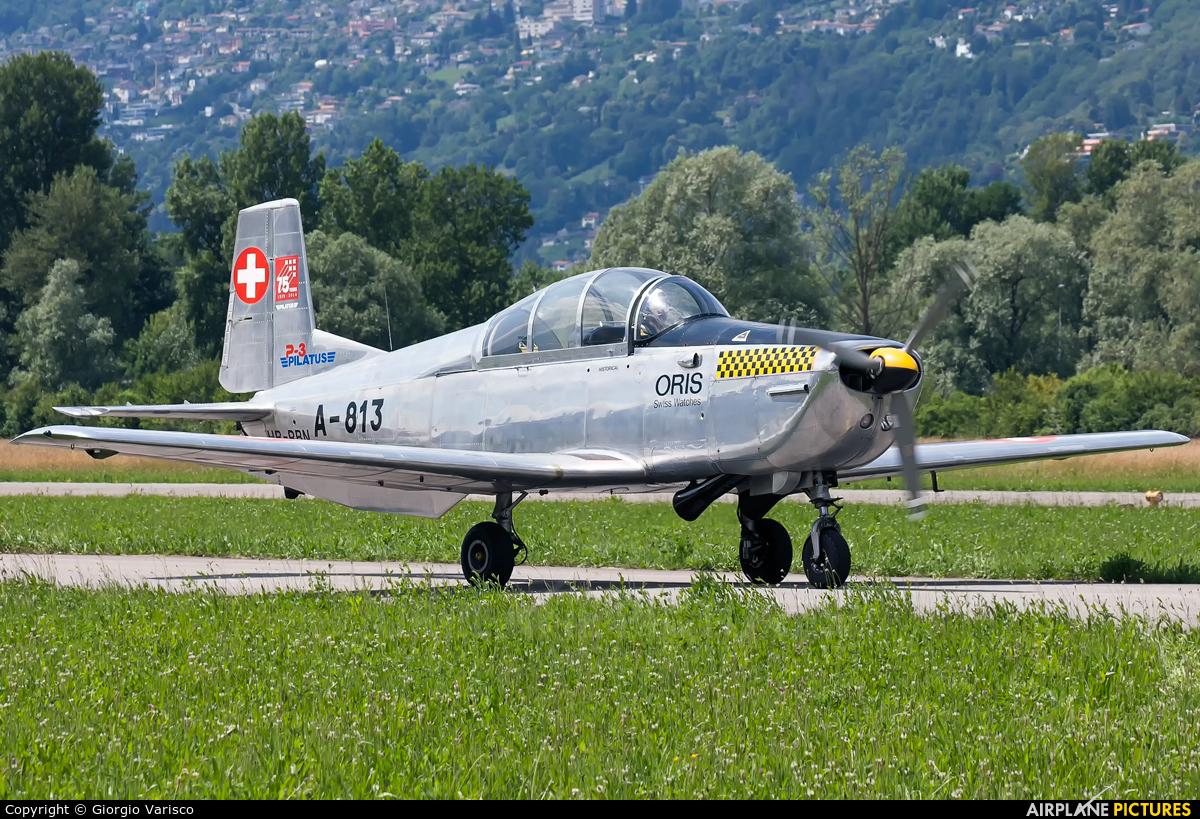 Private HB-RBN aircraft at Locarno
