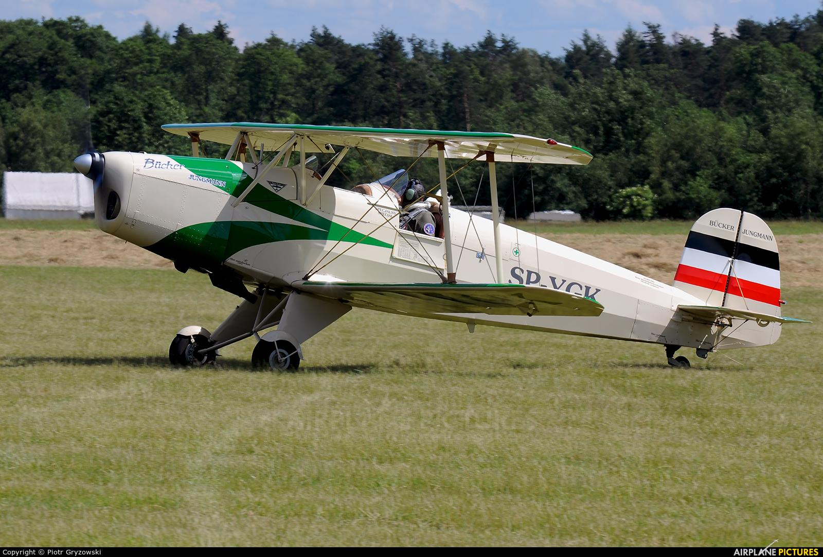 Private SP-YGK aircraft at Rybnik - Gotartowice