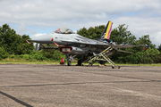 FA-123 - Belgium - Air Force General Dynamics F-16A Fighting Falcon aircraft