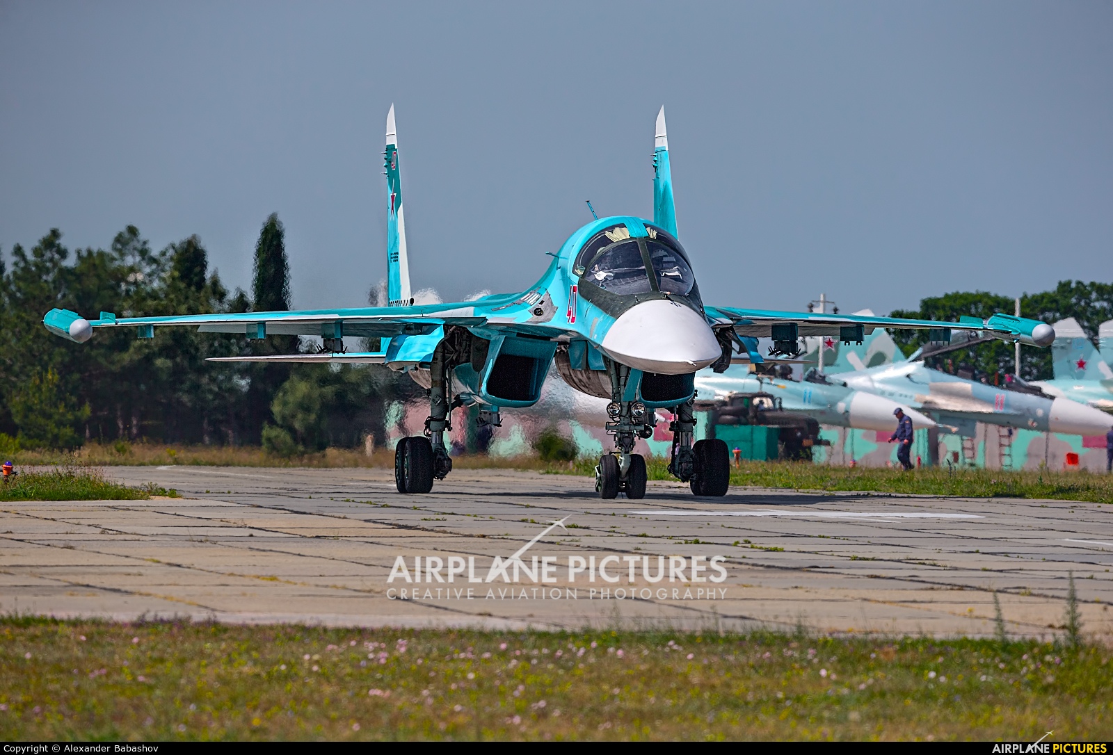 Russia - Air Force Sukhoi Su-34 RF-95856