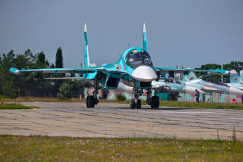 RF-95856 - Russia - Air Force Sukhoi Su-34