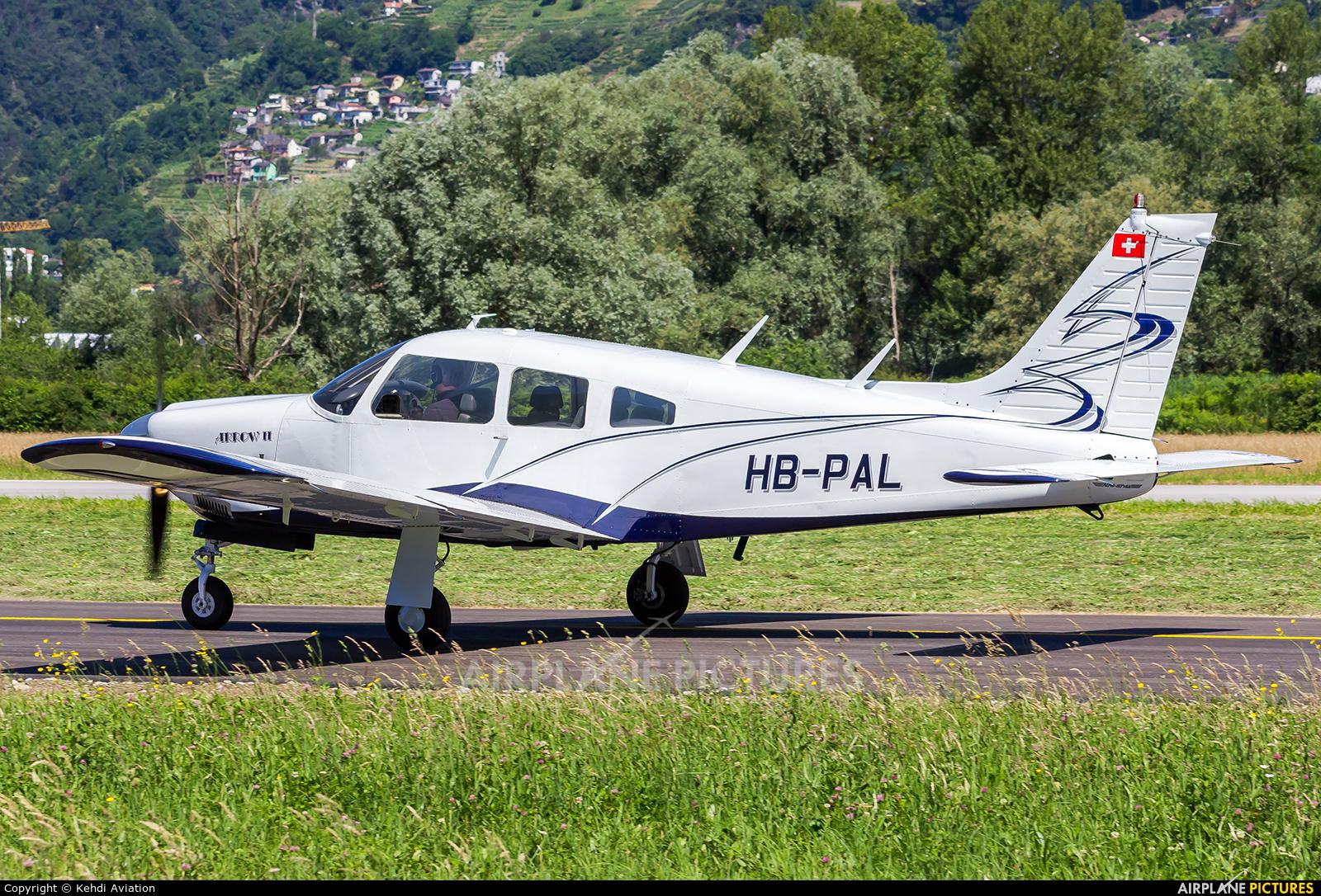 Private HB-PAL aircraft at Locarno